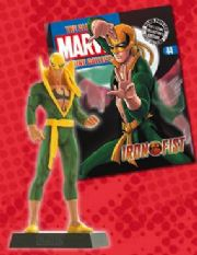 Classic Marvel Figurine Collection #044 Iron Fist Eaglemoss Publications